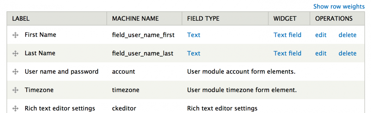 Add Fields to User Profile