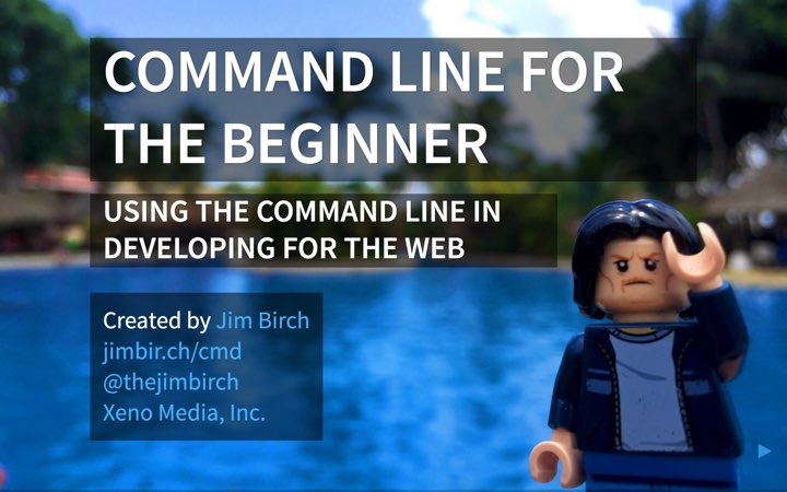 Command Line for the Beginner Presentation