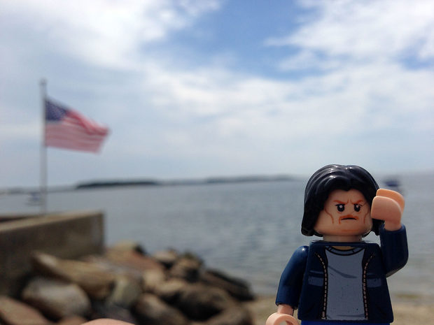 Lego Uncle Jim at the Cape