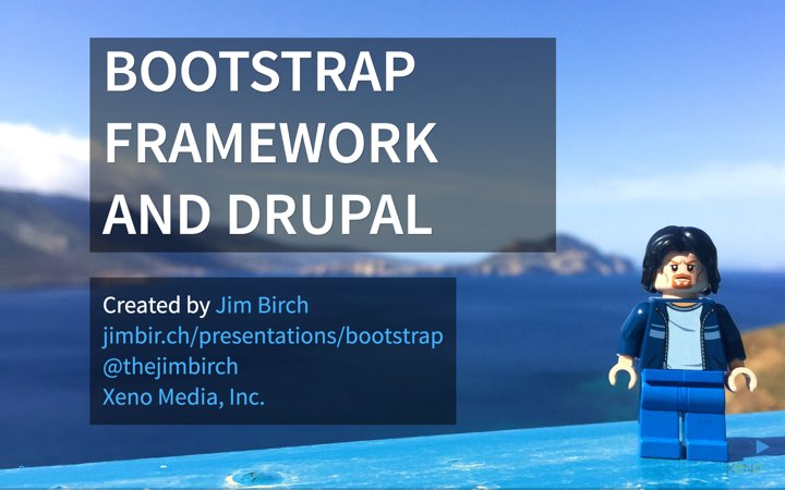 Bootstrap Framework and Drupal