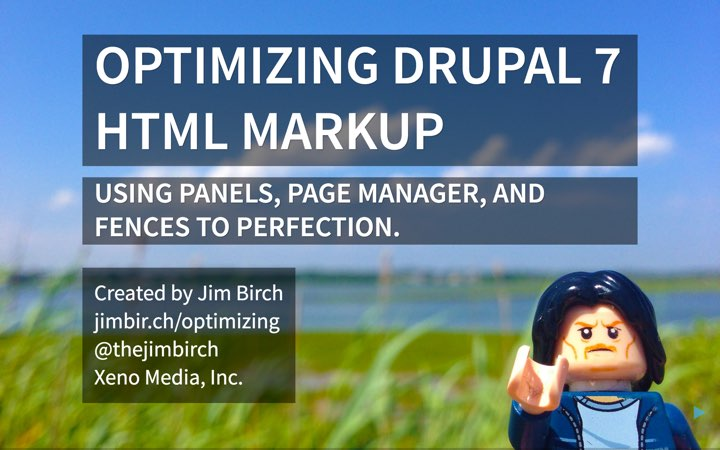 Optimizing Drupal 7 HTML Markup Presentation