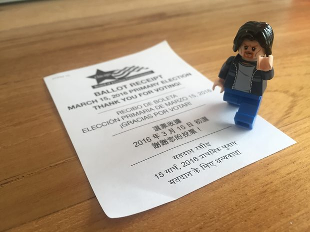 Lego Uncle Jim Votes!