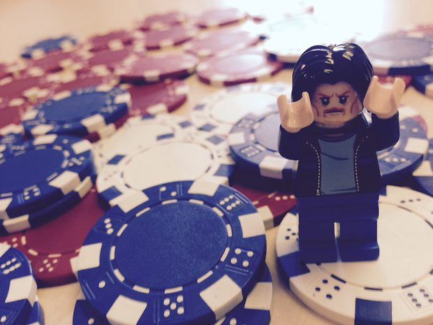 Lego Uncle Jim Wins at Poker