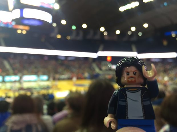 Lego Uncle Jim at the Ballgame