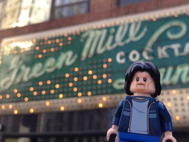Lego Uncle Jim at the Green Mill Cocktail Lounge