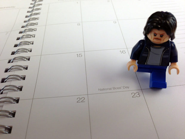 Lego Uncle Jim on National Boss Day