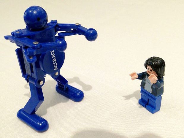 Lego Uncle Jim vs the Acquia Bot